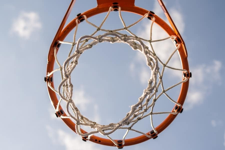how to install basketball net on rim